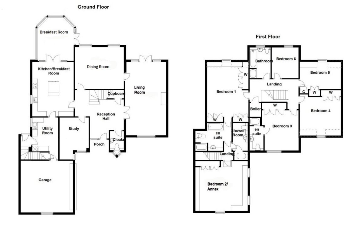 Welcombe Grove, Solihull Floorplan