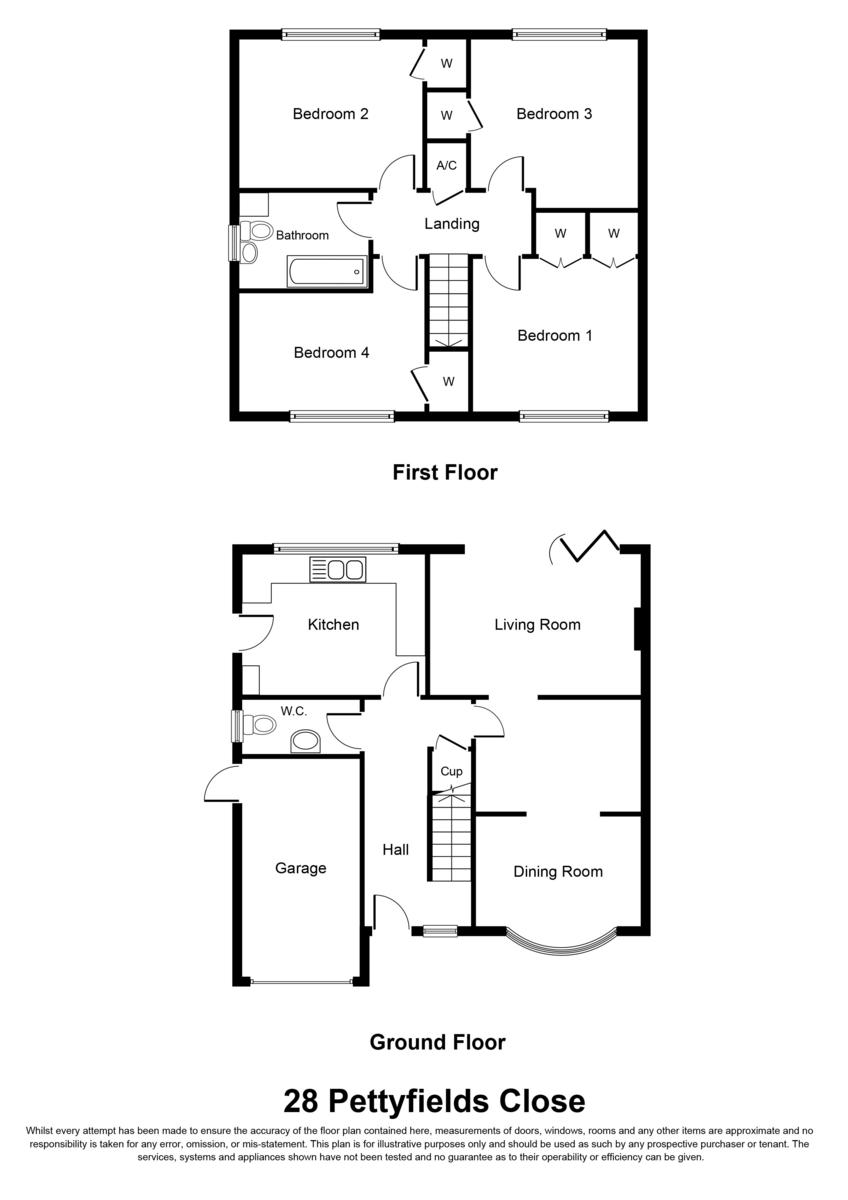 Pettyfields Close, Knowle, Solihull Floorplan