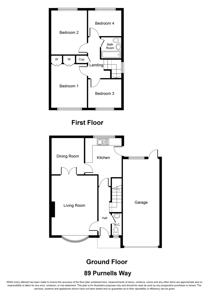Purnells Way, Knowle, Solihull Floorplan