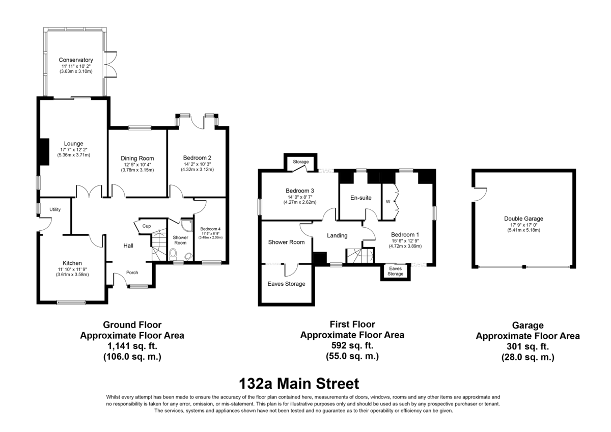 Main Street, Alrewas Floorplan