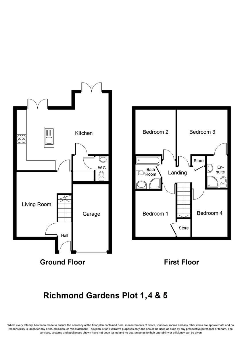 Richmond Gardens, Richmond Road, Stechford Floorplan