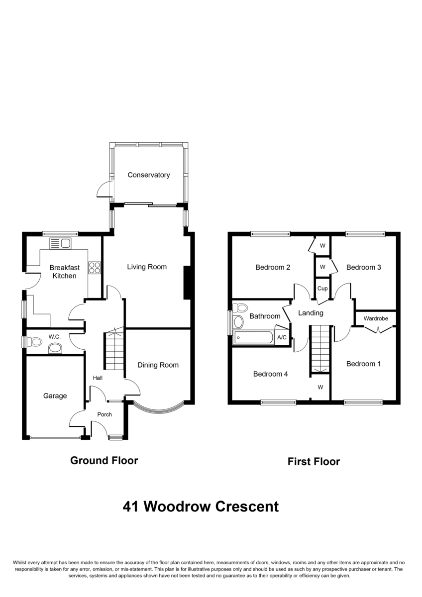 Woodrow Crescent, Knowle, Solihull Floorplan