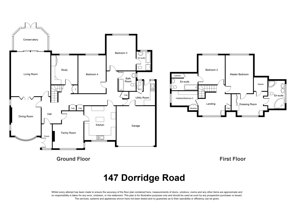 Dorridge Road, Dorridge, Solihull Floorplan