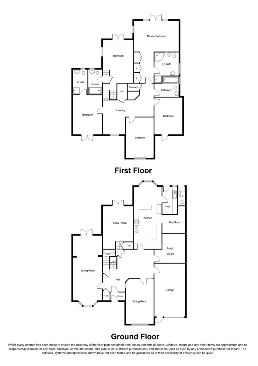 Hampton Lane, Solihull Floorplan
