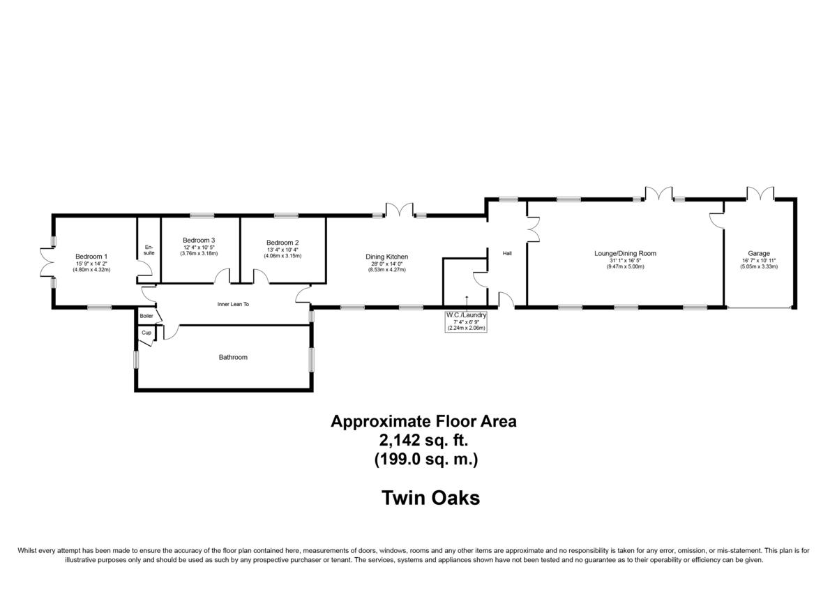 Wood Lane, Shenstone, Nr Lichfield, WS14 0HT Floorplan