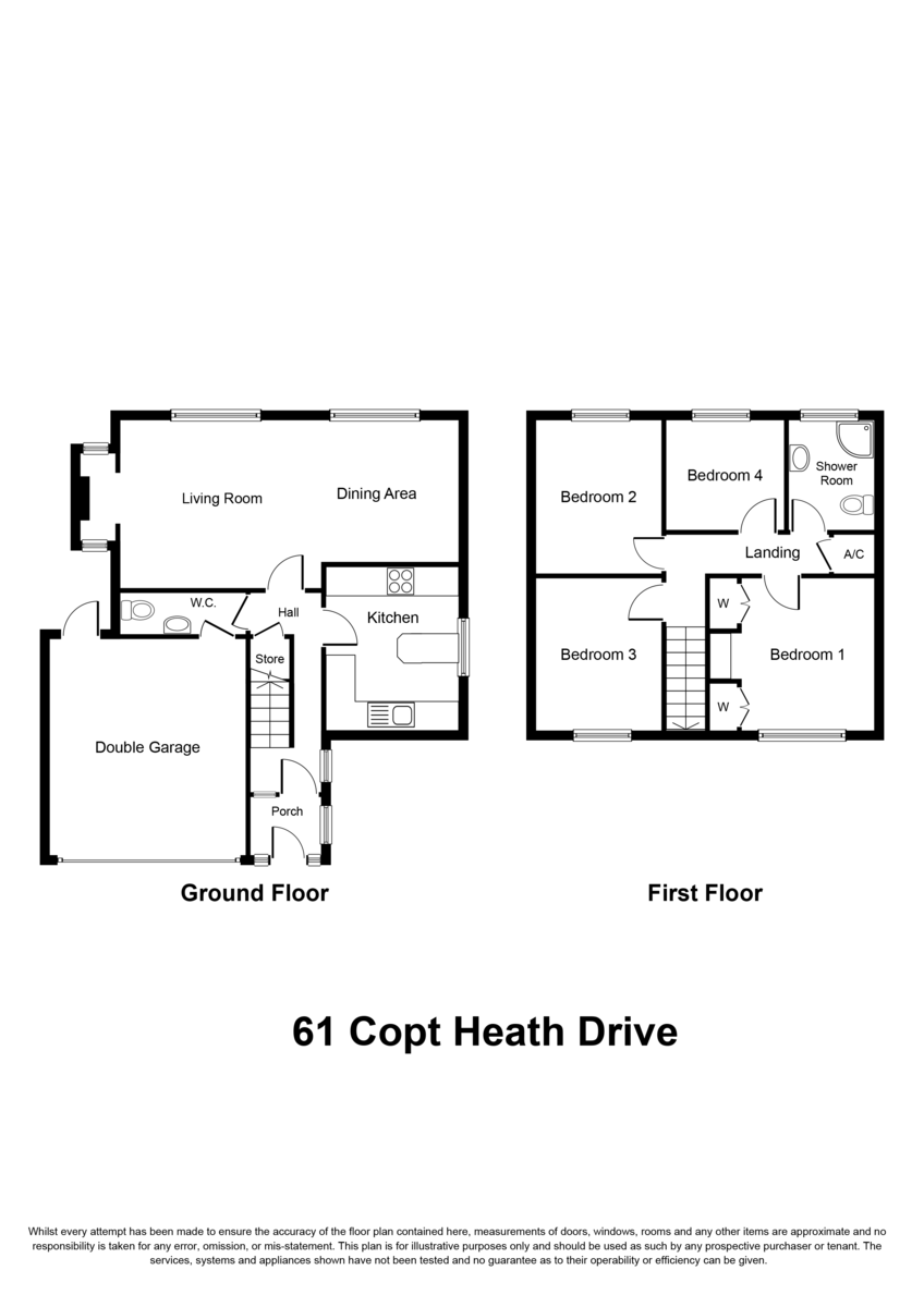 Copt Heath Drive, Knowle, Solihull Floorplan