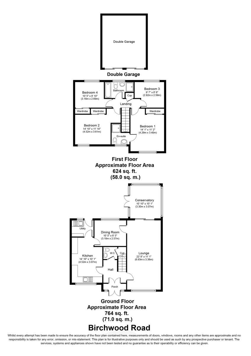 Birchwood Road, Lichfield Floorplan