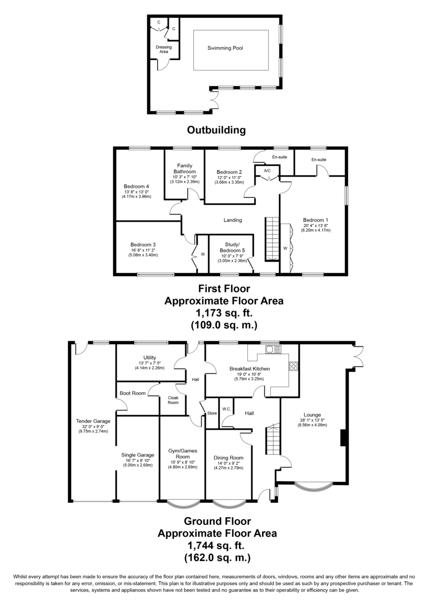 Nursery Lane, Hopwas, Tamworth B78 3AS Floorplan