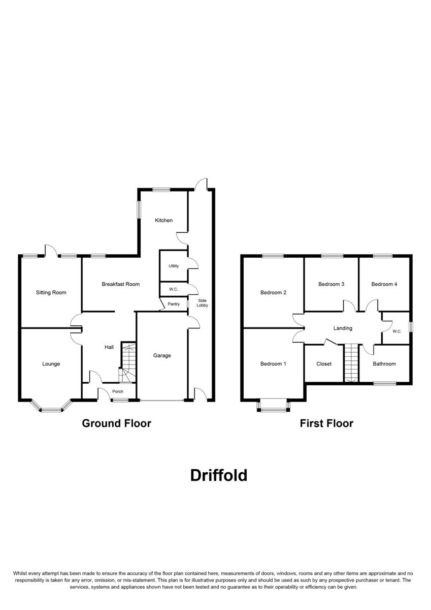Driffold, Sutton Coldfield, B73 6HP Floorplan