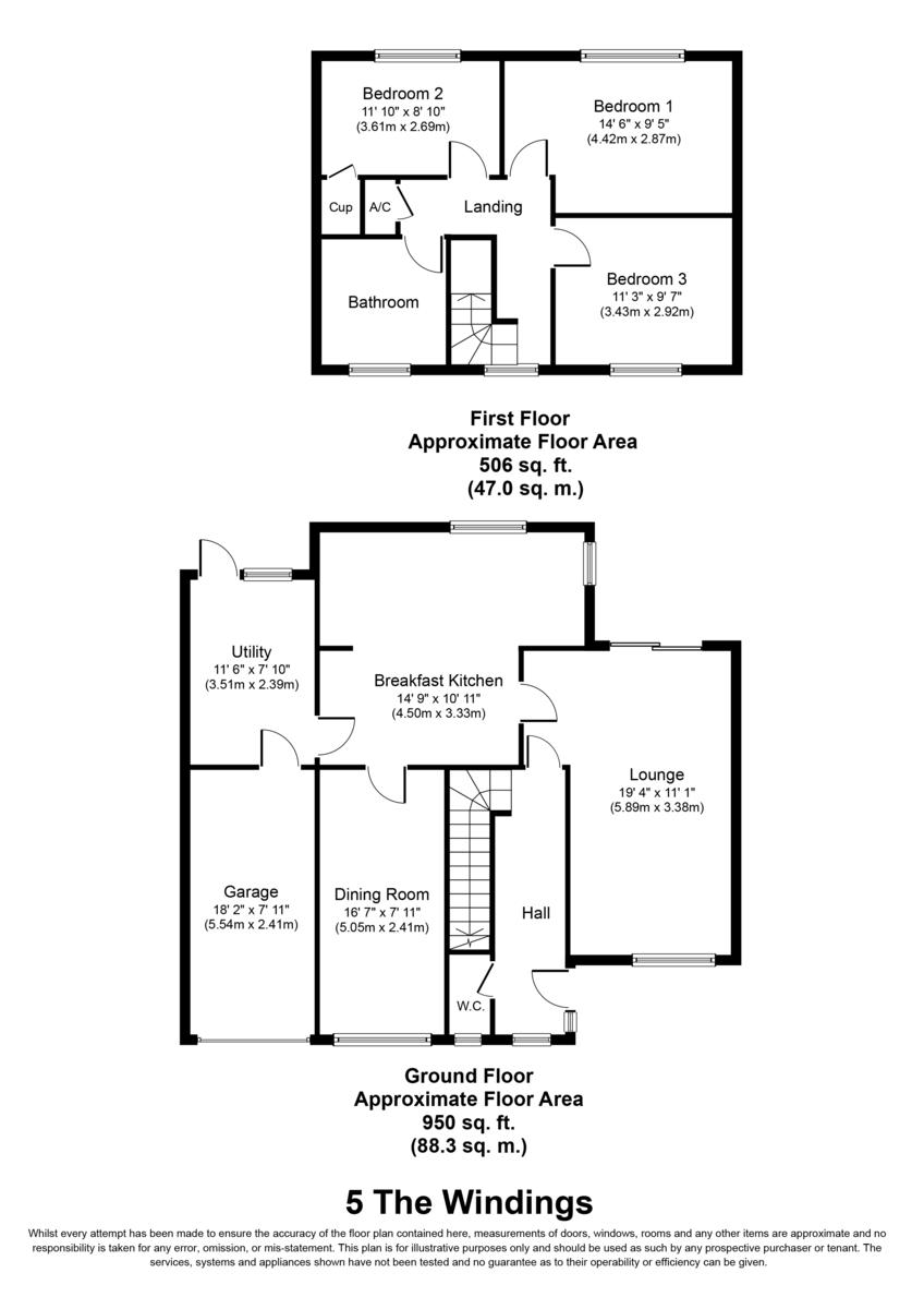 The Windings, Lichfield Floorplan