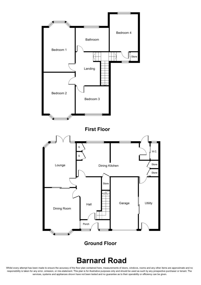 Barnard Road, Sutton Coldfield, B75 6AP Floorplan
