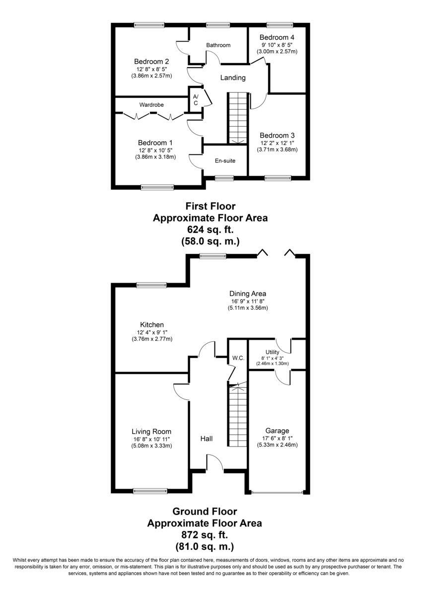 Old Marl Close, Four Oaks, B75 5NF Floorplan