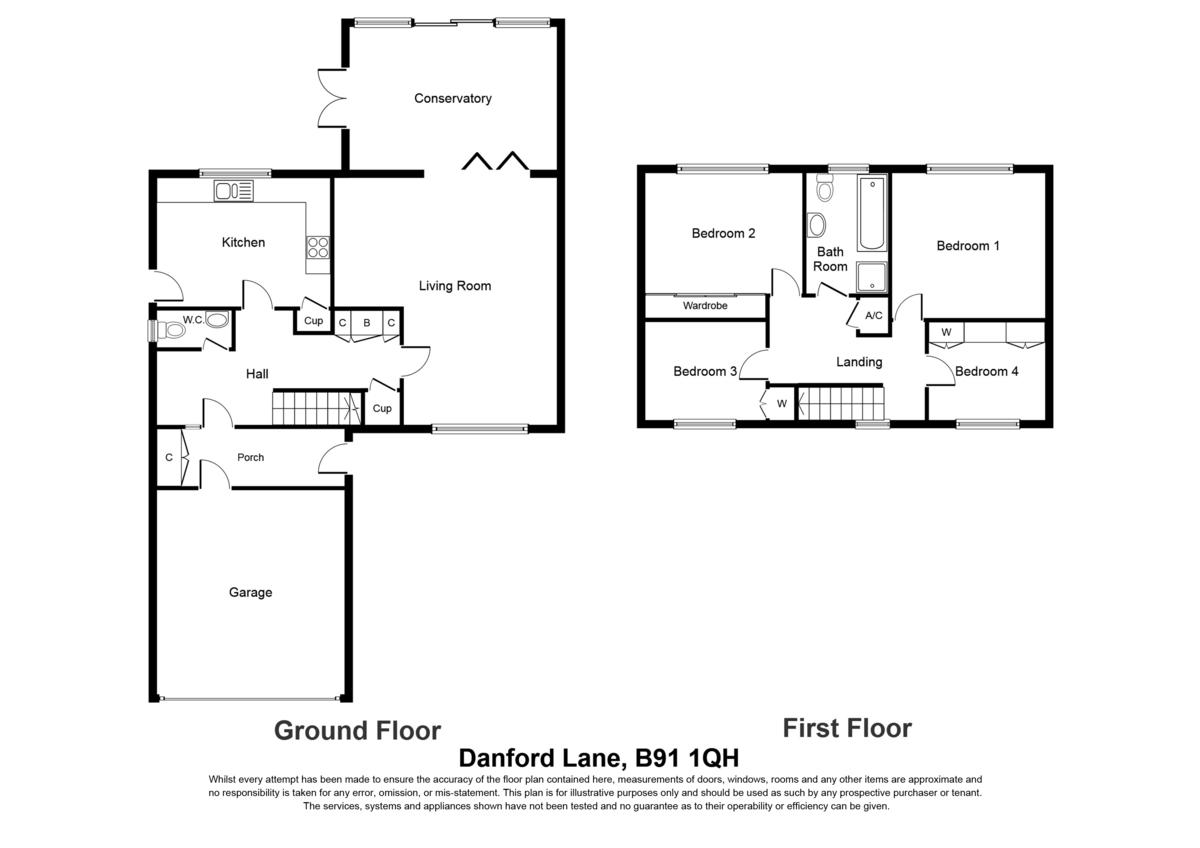 Danford Lane, Solihull Floorplan