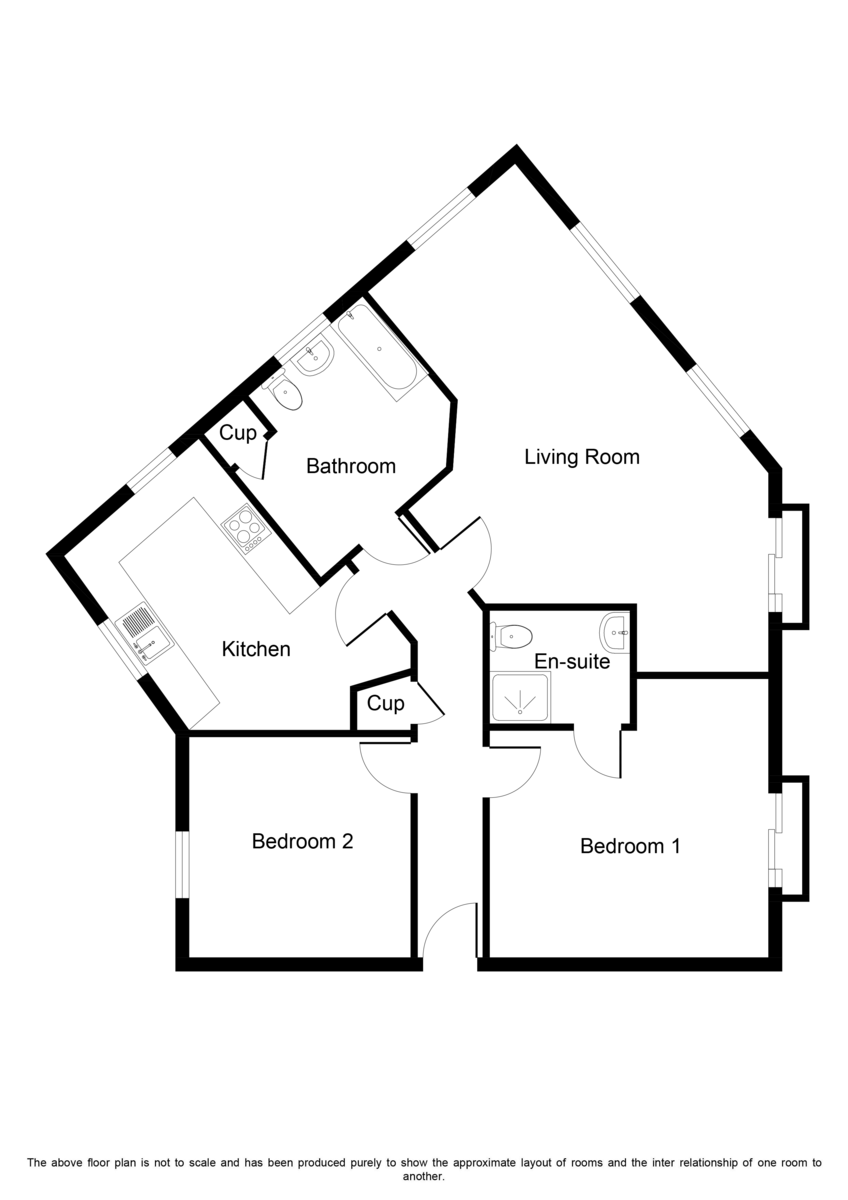 Victory Close, Lichfield Floorplan