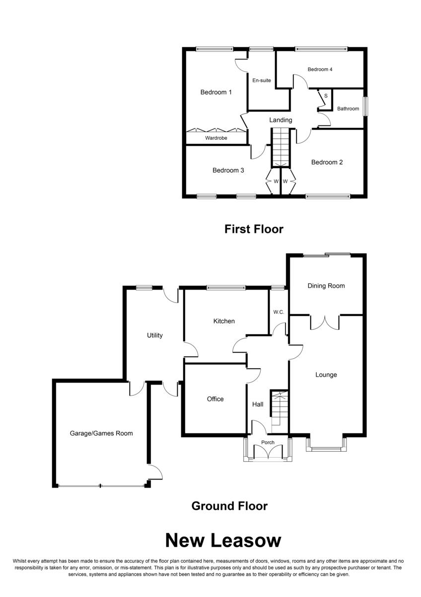 New Leasow, Sutton Coldfield, B76 1YL Floorplan