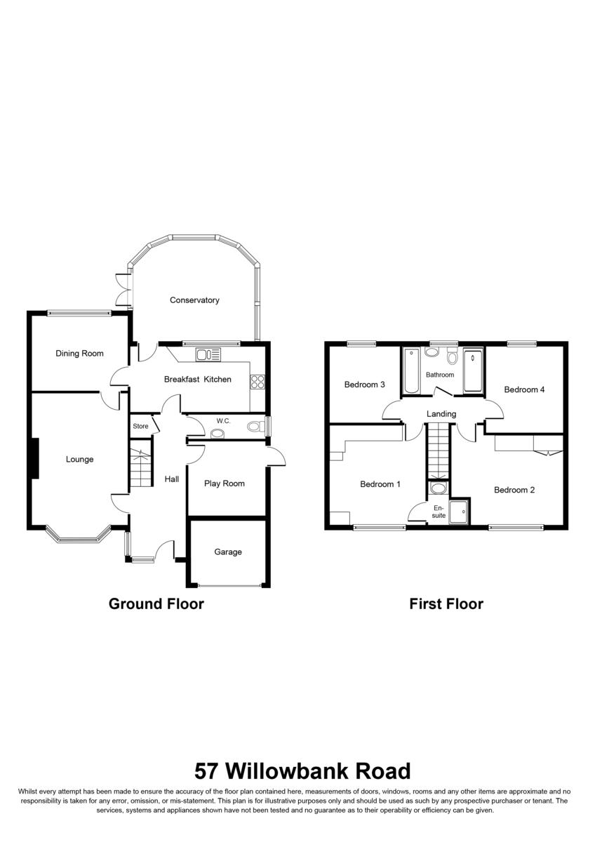 Willowbank Road, Knowle, Solihull Floorplan