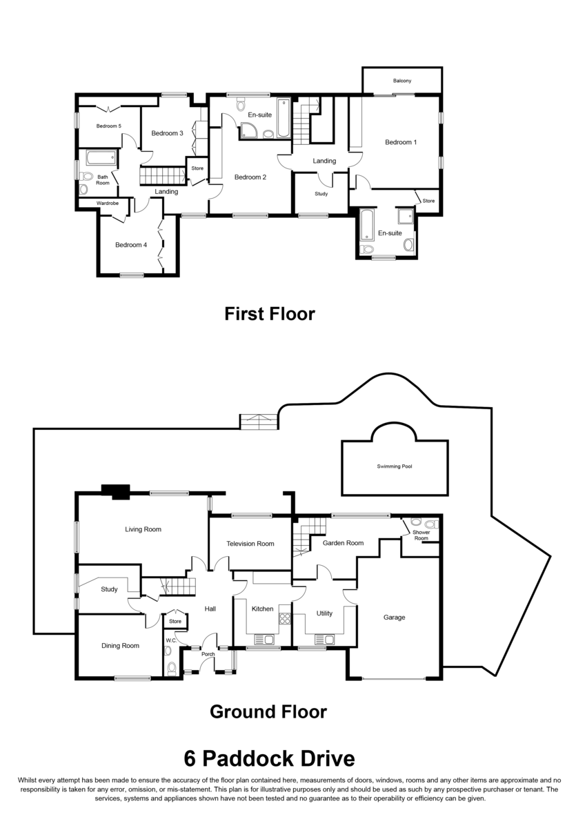 Paddock Drive, Dorridge, Solihull Floorplan