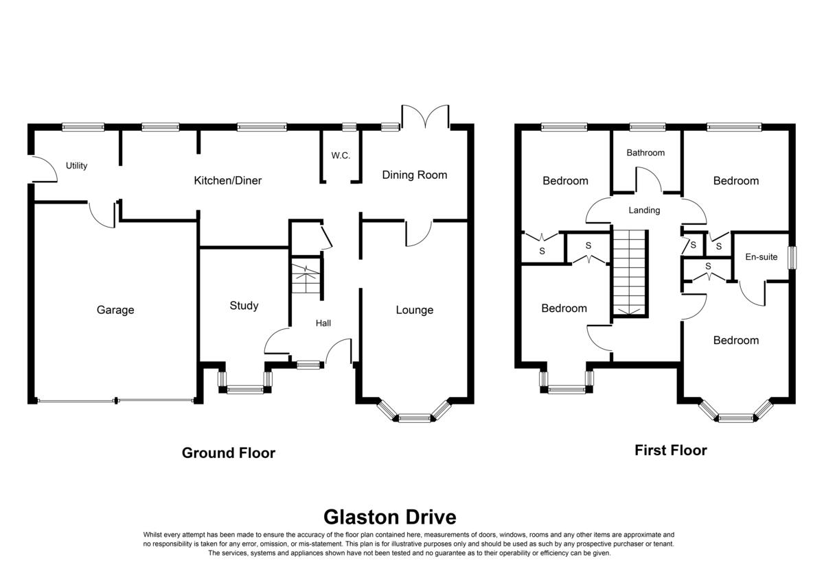 Glaston Drive, Solihull Floorplan