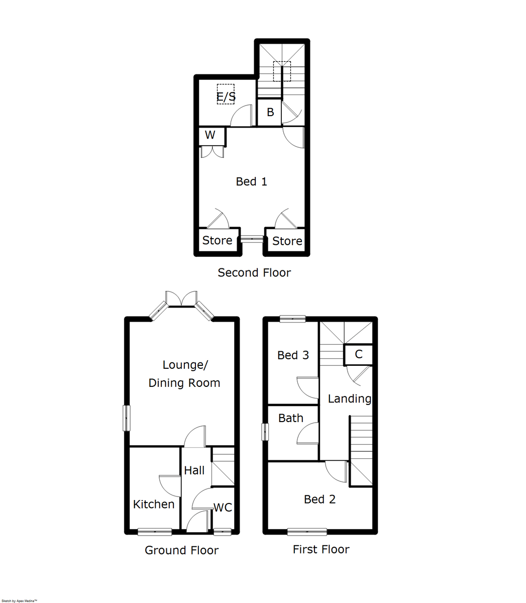 Chesterfield Road, Lichfield Floorplan