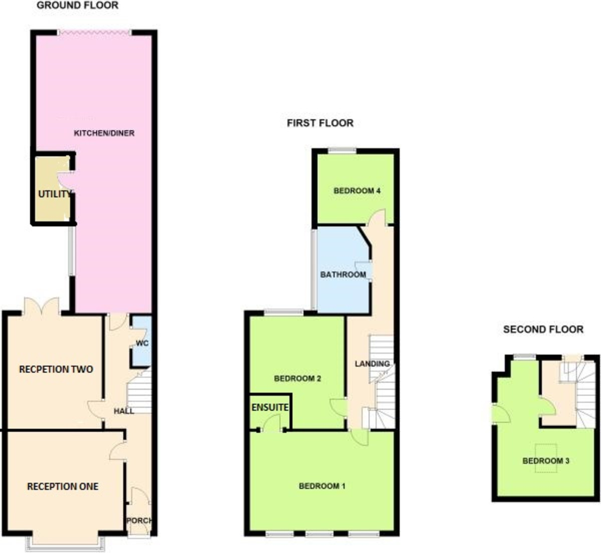 Western Road, Sutton Coldfield, B73  Floorplan