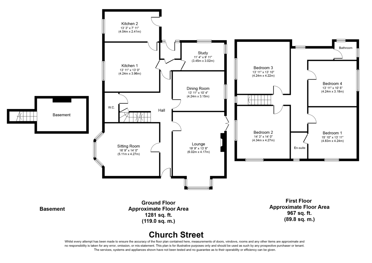 Church Street, Rugeley, WS15 2AB Floorplan