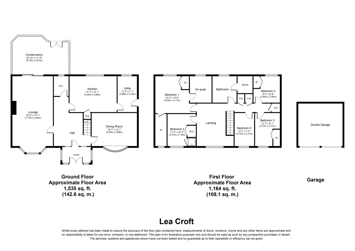 Lea Croft, Colton, WS15 3NB Floorplan