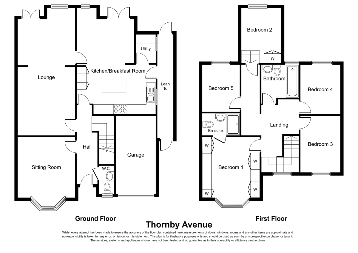 Thornby Avenue, Solihull Floorplan