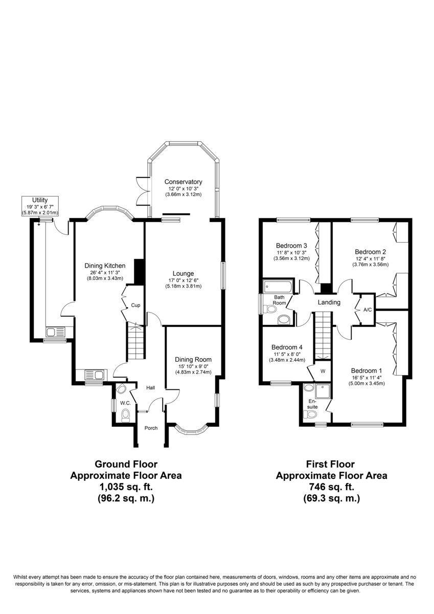 Main Road, Harlaston, B79 9HG Floorplan