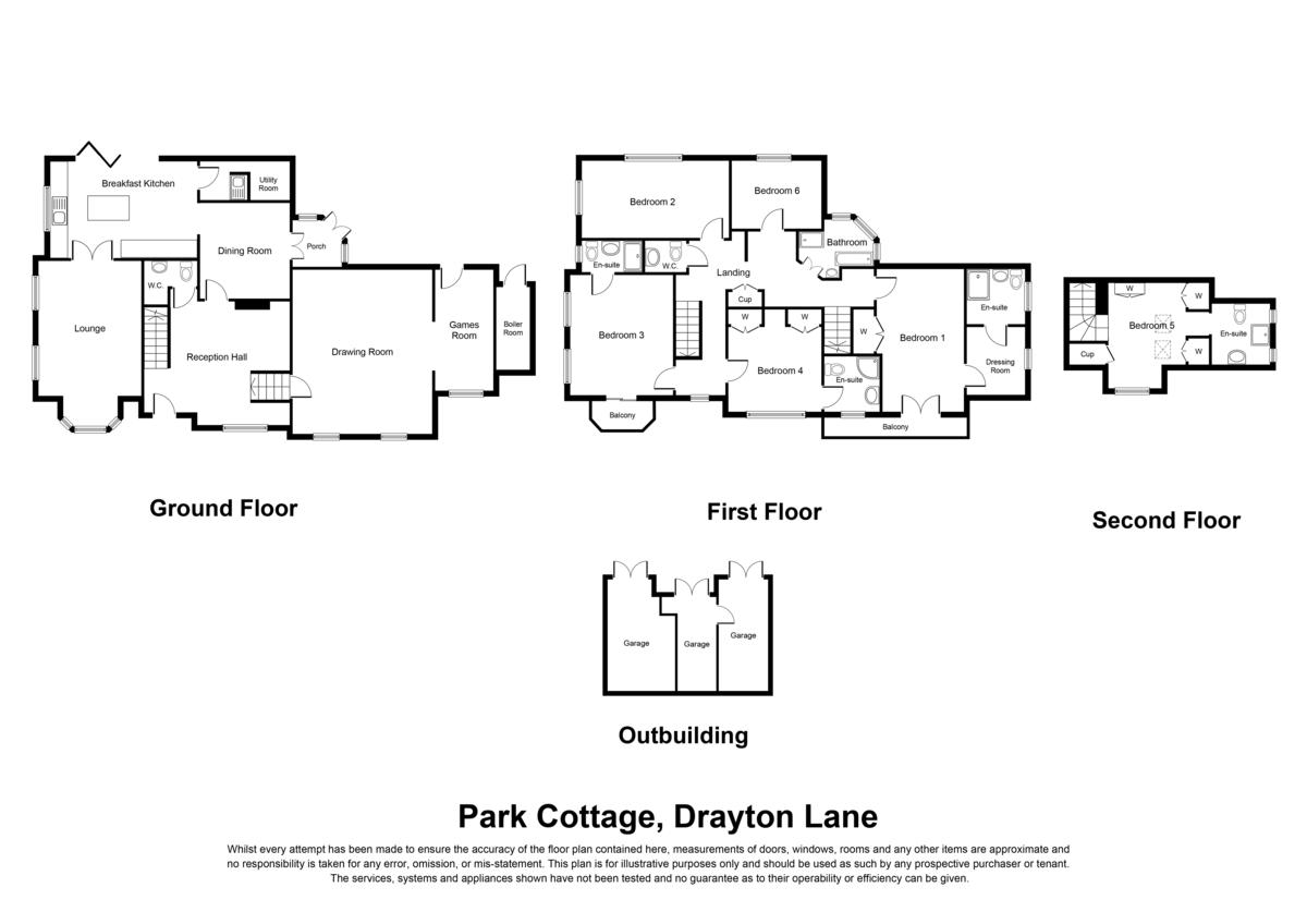 Drayton Lane, Drayton Bassett, B78 Floorplan