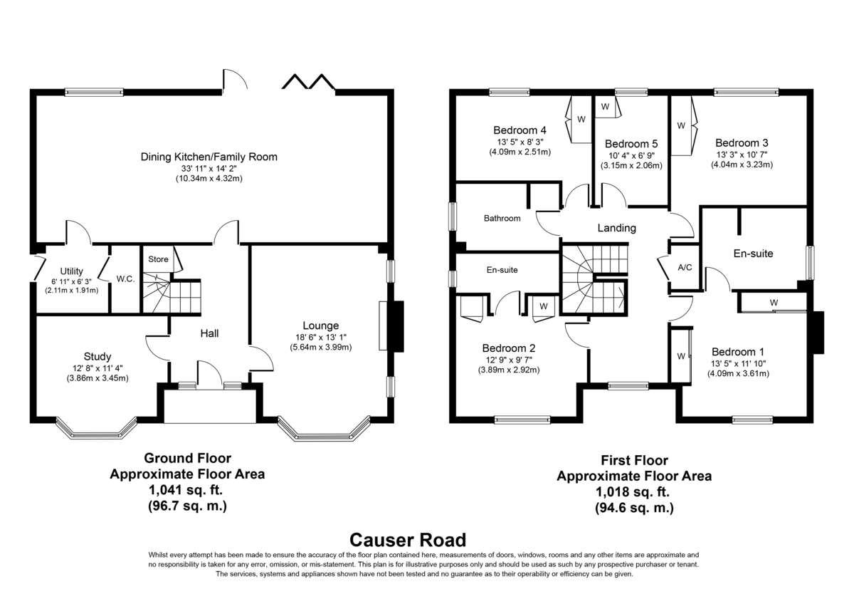 Causer Road, Barton under Needwood Floorplan