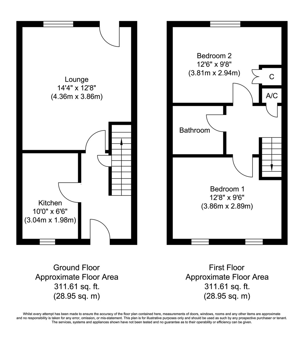 Victoria Meadow, Tamworth Floorplan