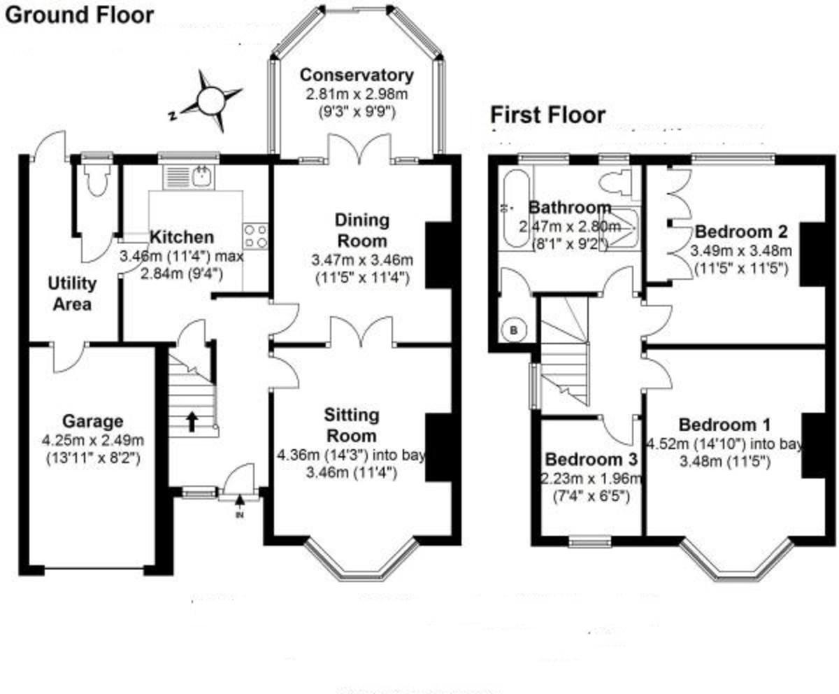 Marsham Court Road, Solihull Floorplan
