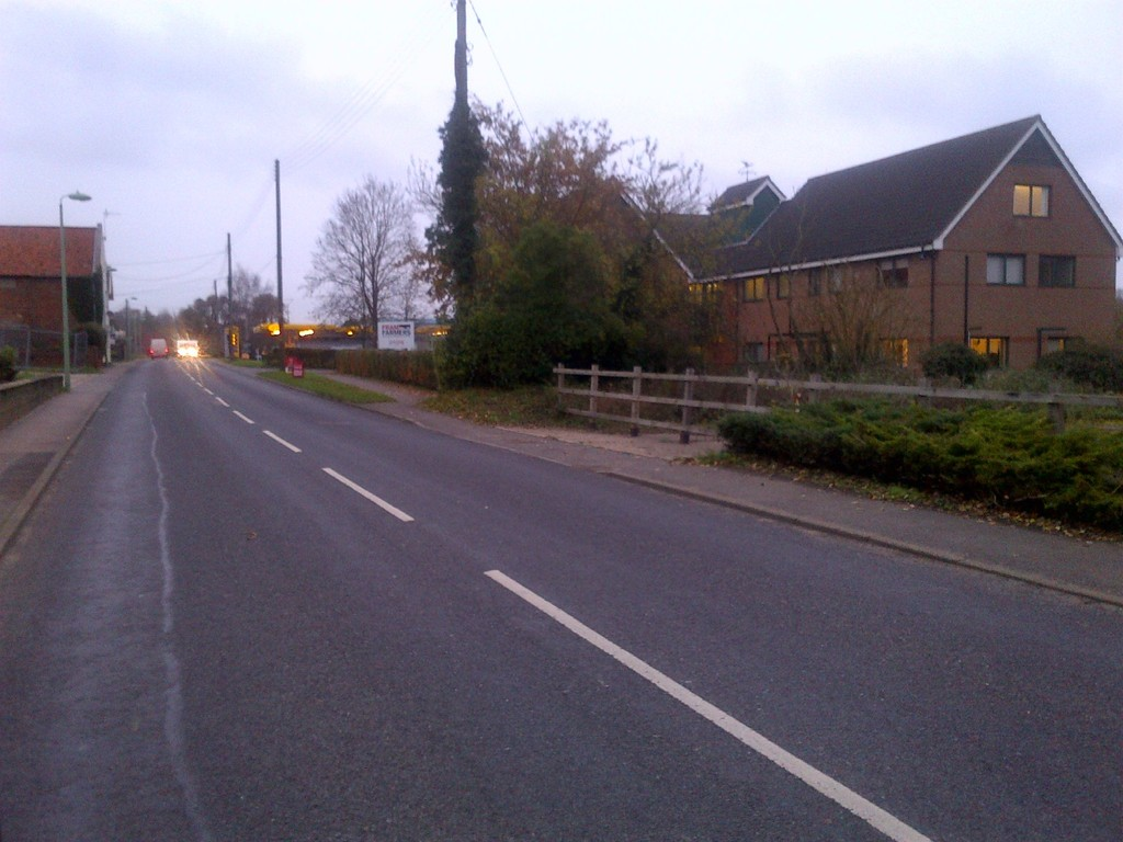 Station Road, Framlingham