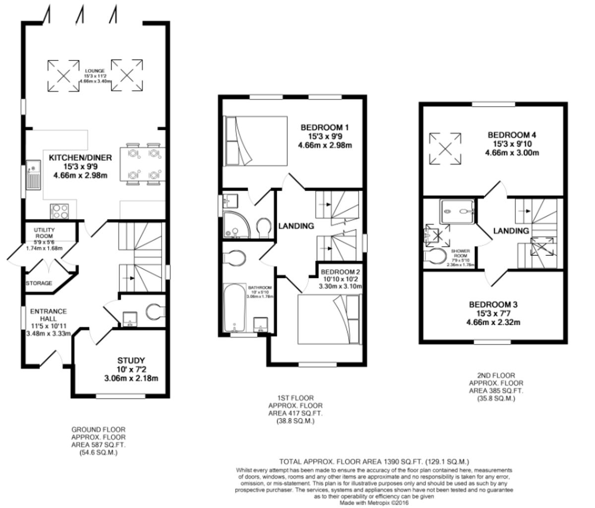 Dale Road, Keyworth, NG12 5HS Floorplan