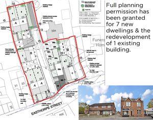 Residential Redevelopment Site, 35-39 Easthorpe Street, Ruddington