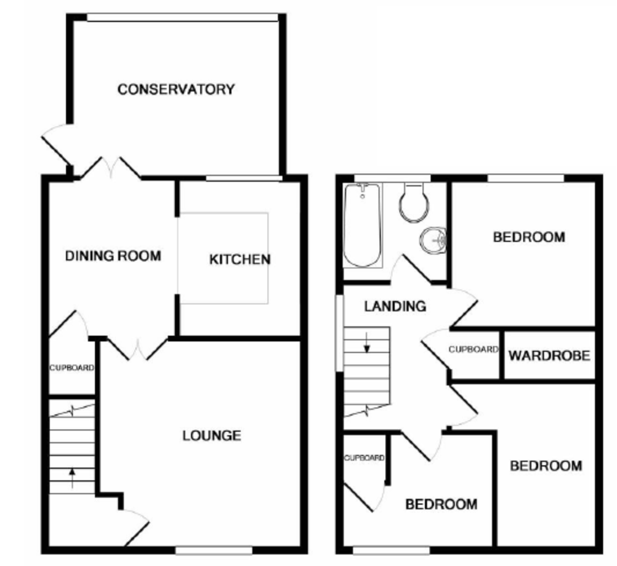 Goldcrest Close, Bingham, NG13 8QQ  Floorplan