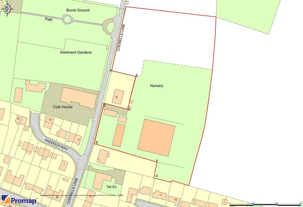 Land at Chewells Lane, Haddenham