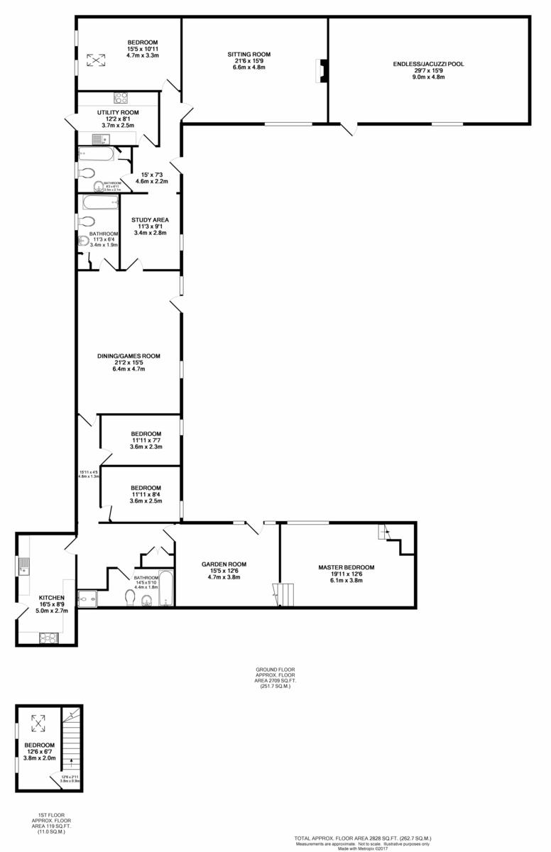 Low Common, Hellington Floorplan