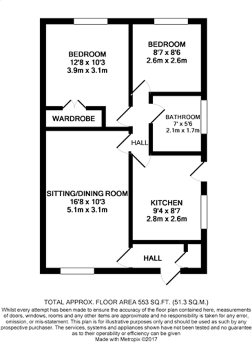 Roman Way, Halesworth Floorplan