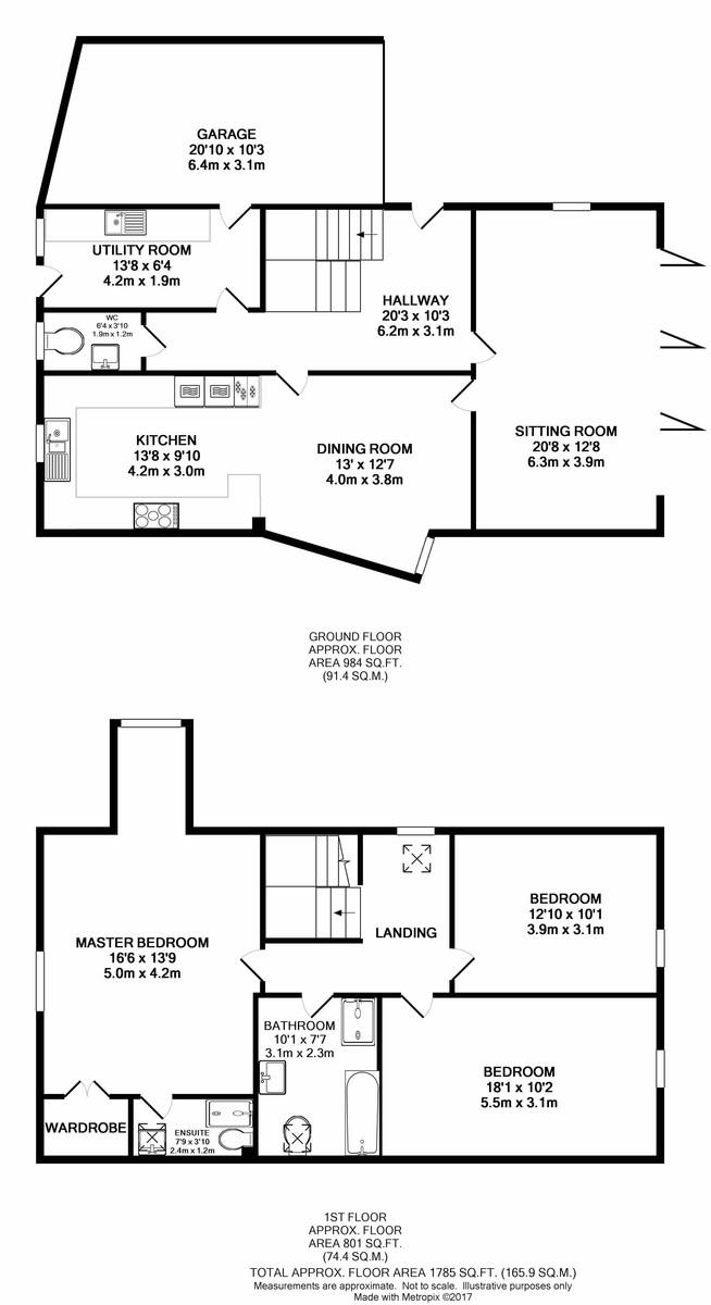 Upper Stoke, Norwich Floorplan