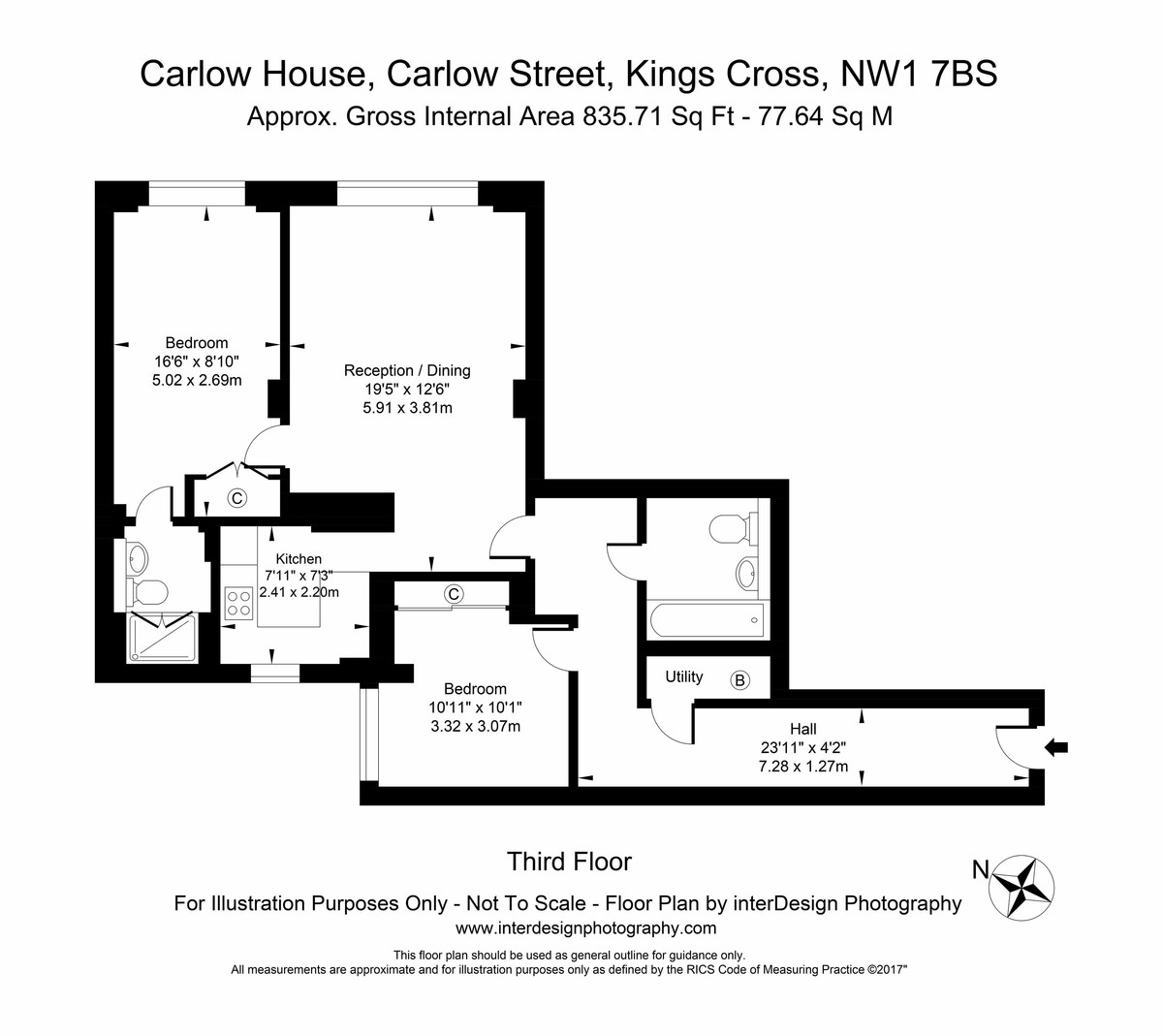 Carlow House , Carlow Street Floorplan