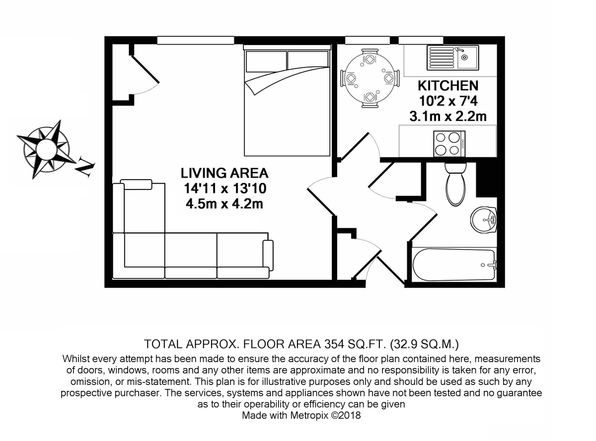 Chelsea Manor Street, London Floorplan