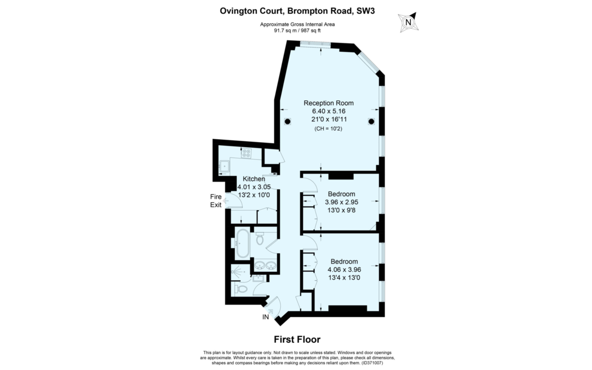 Brompton Road, Knightsbridge Floorplan