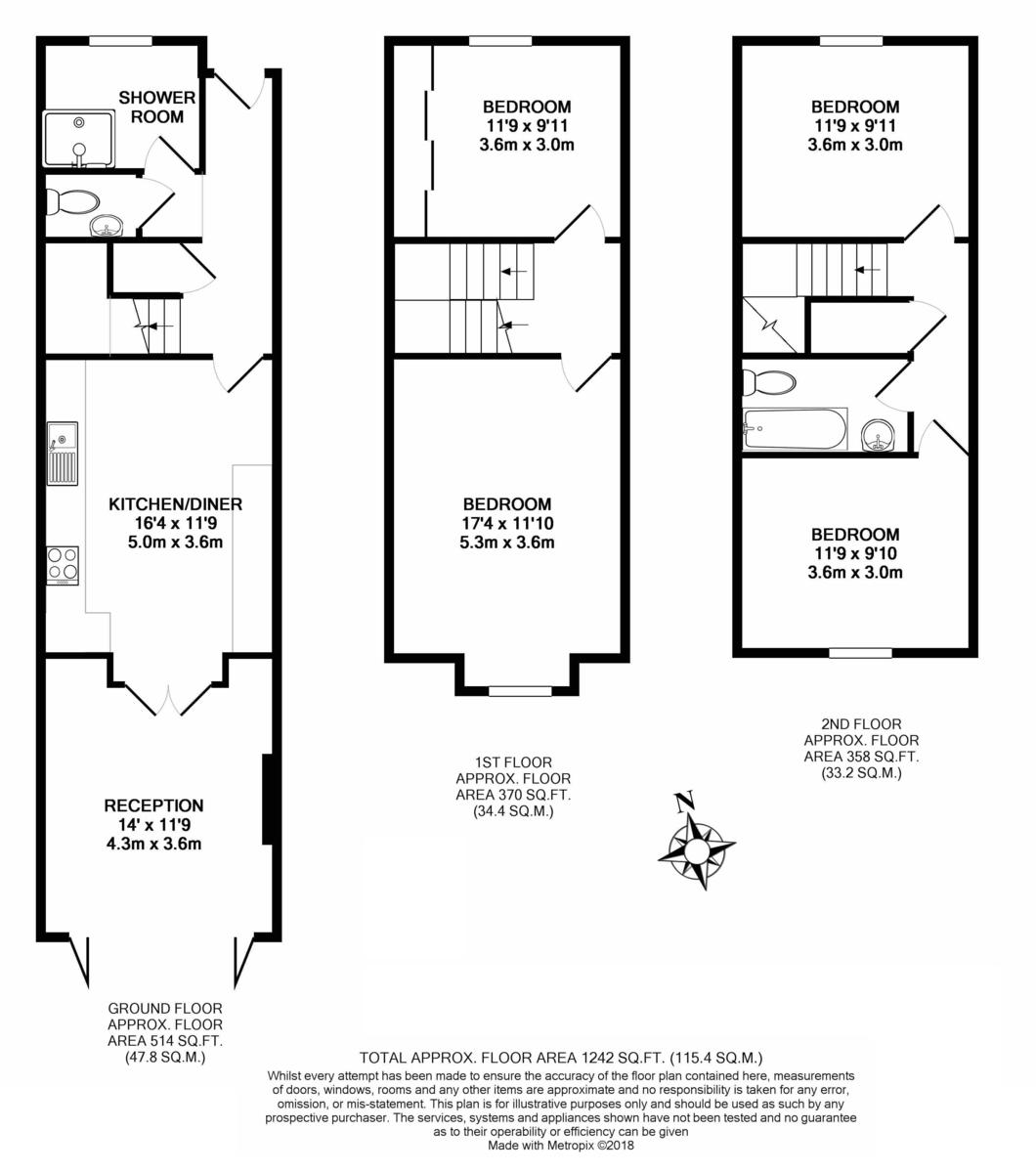 Kingswood Close, London Floorplan
