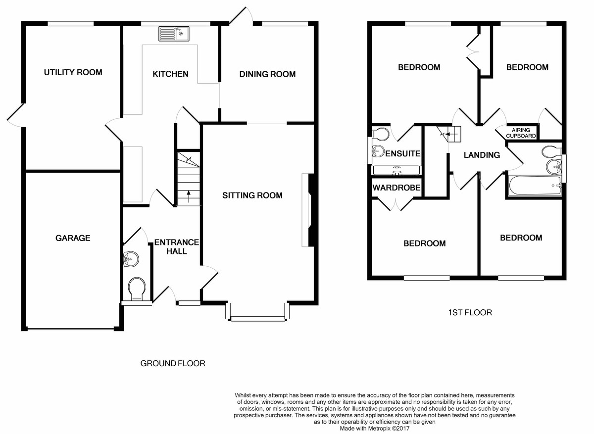 Antonia Close, Haverhill Floorplan