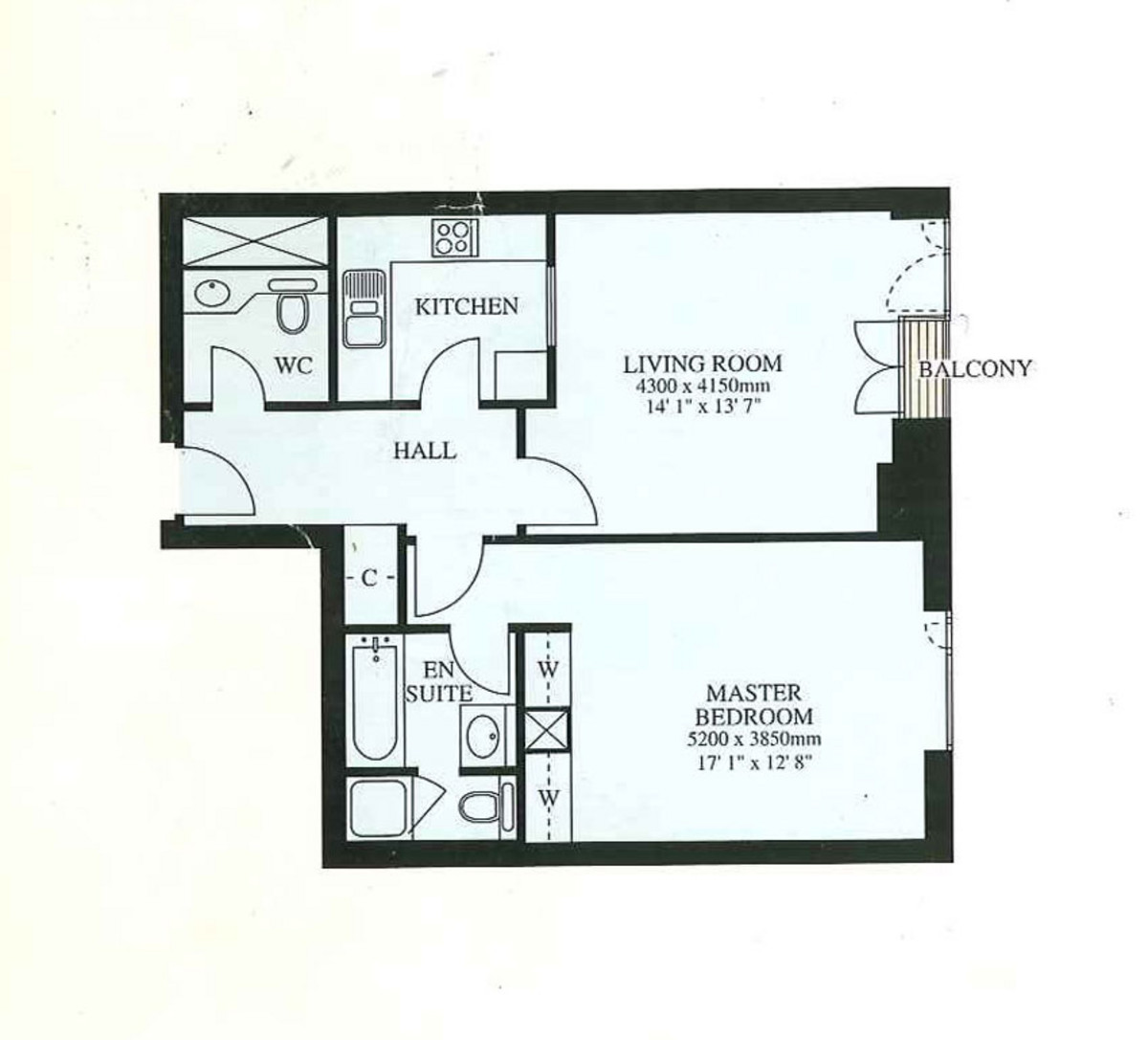 Eaton House, Canary Wharf, London, E14 Floorplan