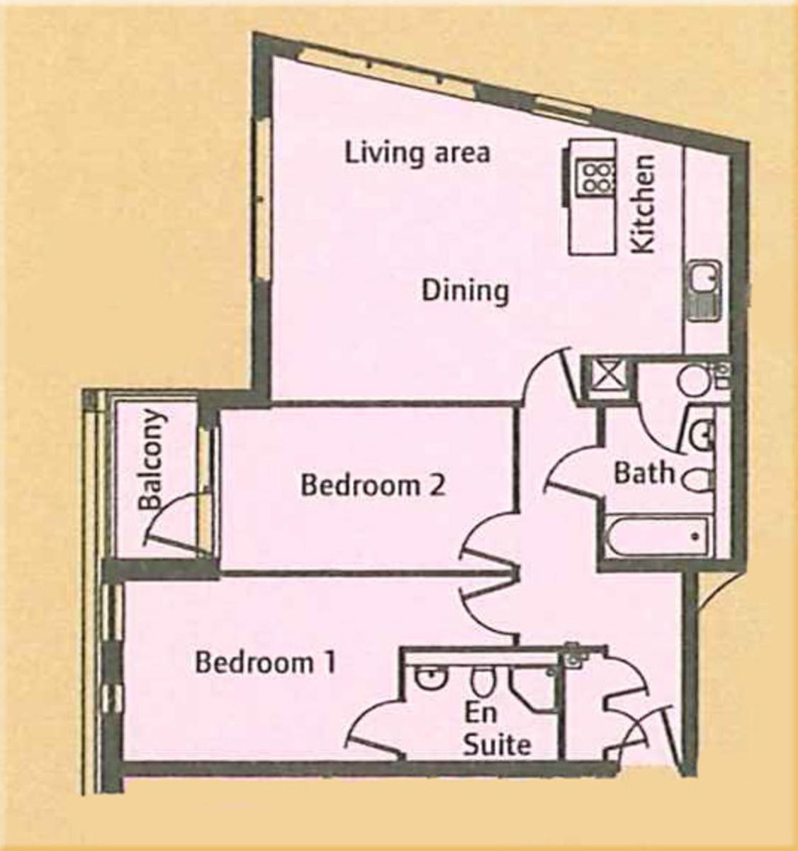 Union Park, Greenwich, London, SE10 Floorplan