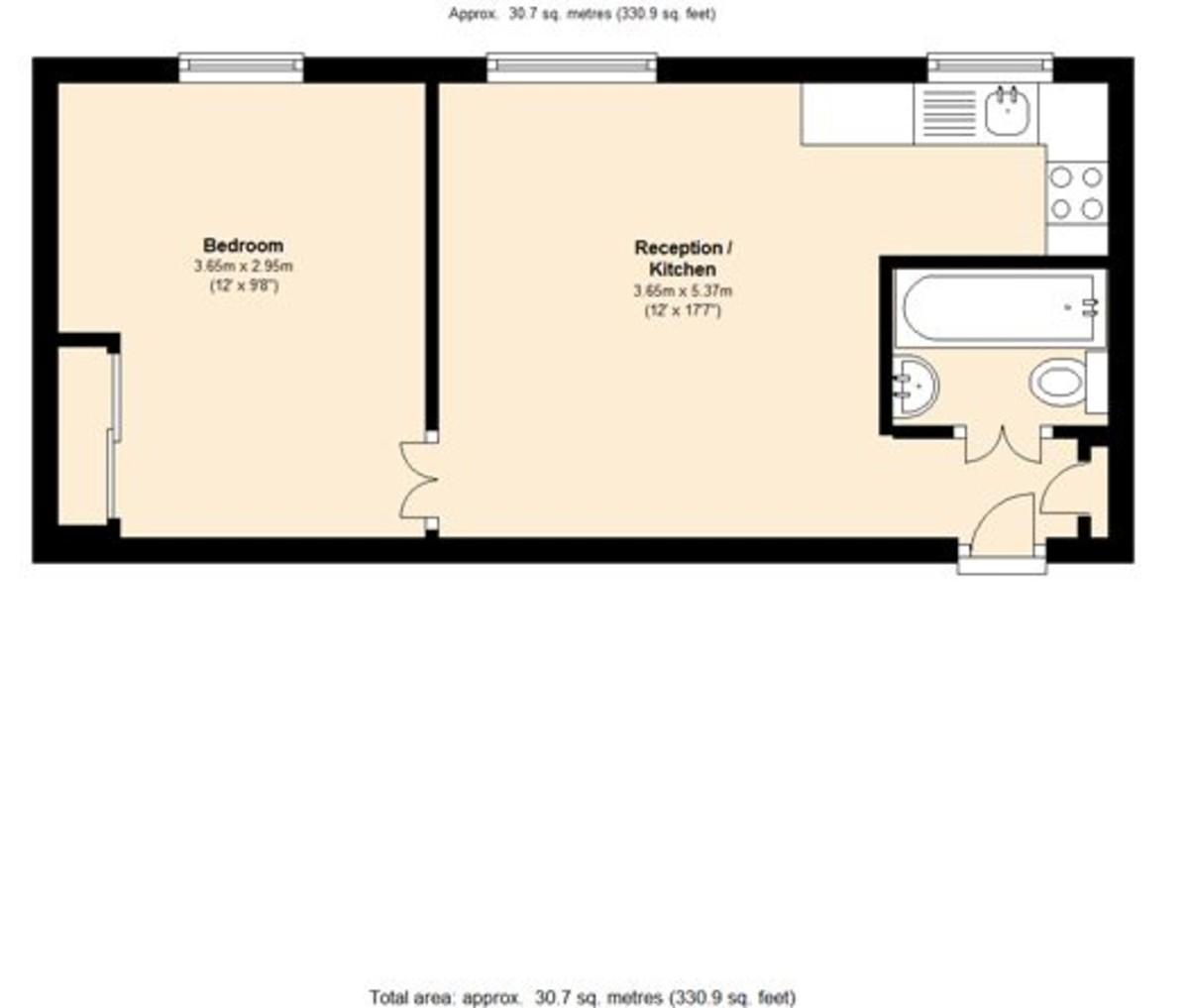 Abercorn Place, St Johns Wood, London, NW8 Floorplan