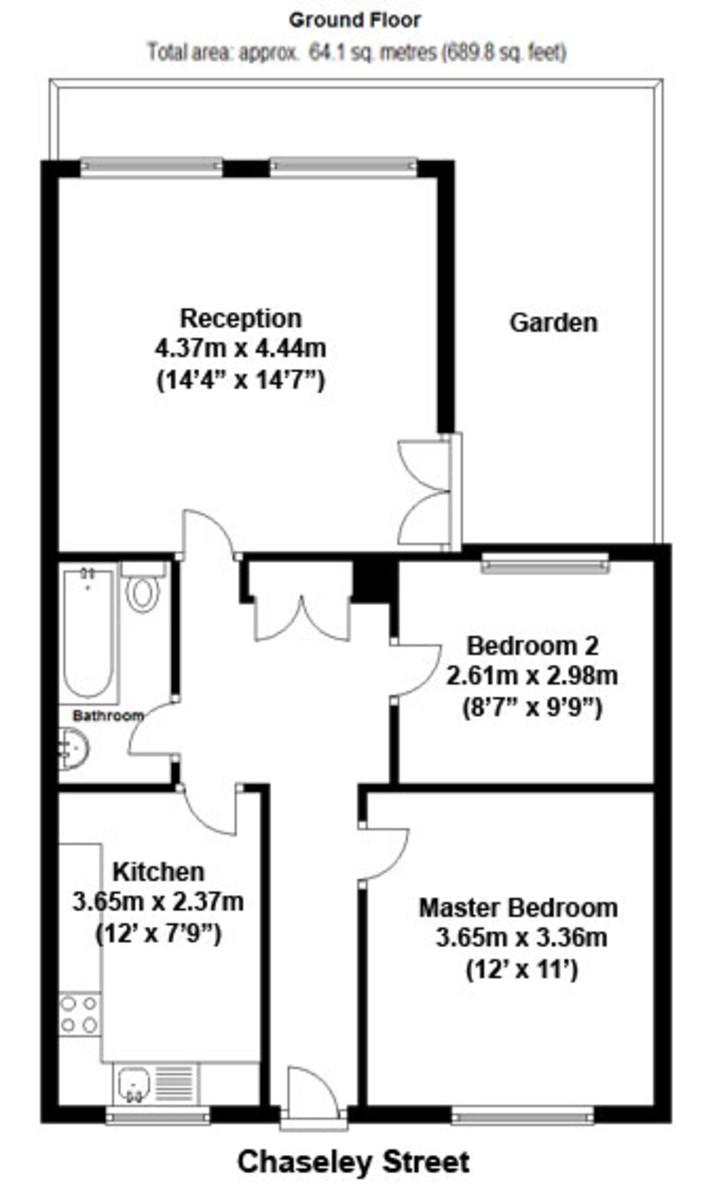 Chaseley Street, Limehouse, E14 Floorplan