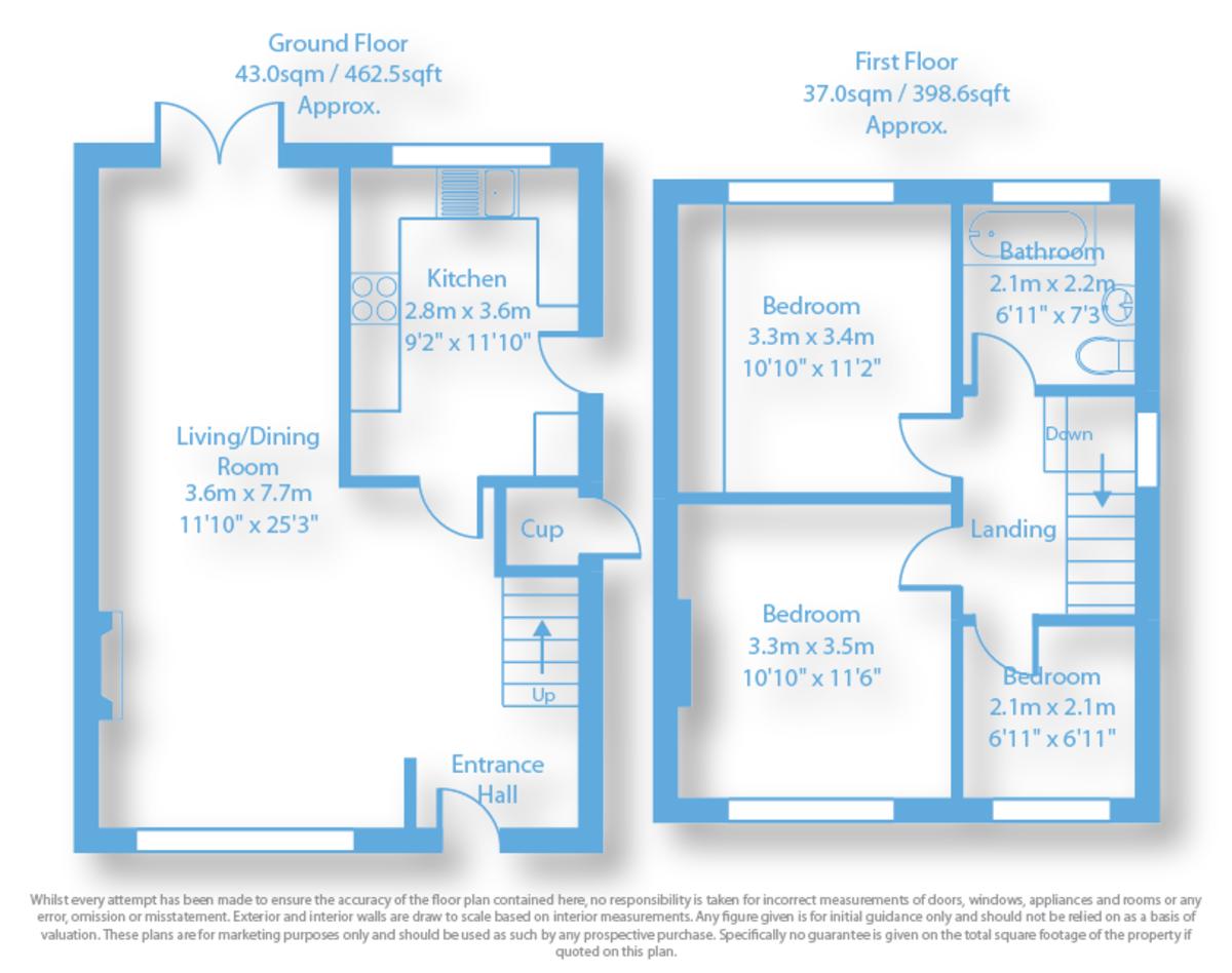 Weston Crescent, Long Eaton Floorplan